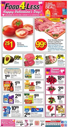 Food 4 Less deals in the Panorama City CA weekly ad