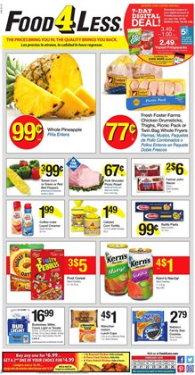 Food 4 Less deals in the Pacoima CA weekly ad