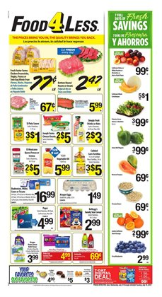 Food 4 Less deals in the Reseda CA weekly ad