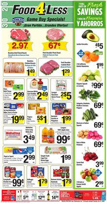 Food 4 Less deals in the San Diego CA weekly ad
