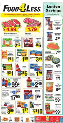 Food 4 Less catalogue in Moreno Valley CA ( Published today )