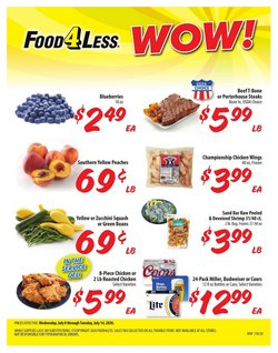 Food 4 Less catalogue ( Expires today )