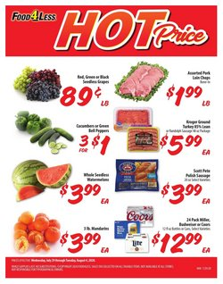 Grocery & Drug offers in the Food 4 Less catalogue in Cicero IL ( Expires today )