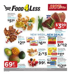 Food 4 Less deals in the Food 4 Less catalog ( 2 days left)
