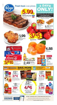 Grocery & Drug deals in the Kroger weekly ad in East Lansing MI