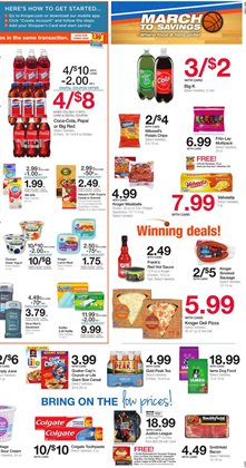 Pizza deals in the Kroger weekly ad in Columbus IN