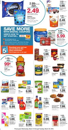 Cheese deals in the Kroger weekly ad in Columbus IN
