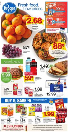 Kroger deals in the Memphis TN weekly ad