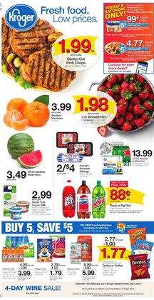 Grocery & Drug deals in the Kroger weekly ad in Columbus IN
