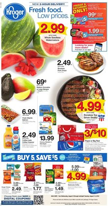 Kroger deals in the Charleston WV weekly ad