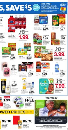 Matches deals in the Kroger weekly ad in Roswell GA
