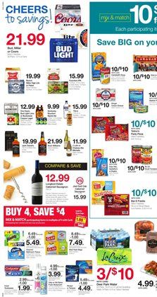 Budweiser deals in the Kroger weekly ad in Humble TX