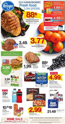 Kroger deals in the Humble TX weekly ad