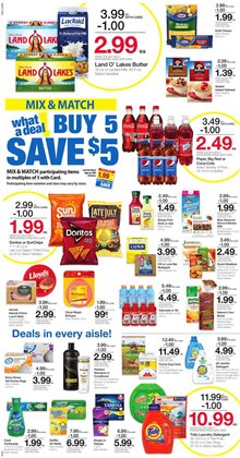 Detergent deals in the Kroger weekly ad in Stone Mountain GA