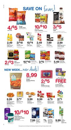Destinations deals in the Kroger weekly ad in Bay City MI