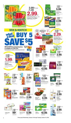 Cheese deals in the Kroger weekly ad in Livonia MI