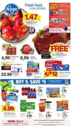 Kroger deals in the Aiken SC weekly ad