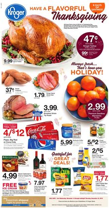 Kroger deals in the Dearborn Heights MI weekly ad