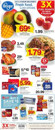 Pepsi deals in the Kroger weekly ad in Dallas TX
