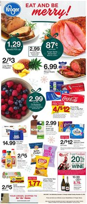 Kroger deals in the South Bend IN weekly ad