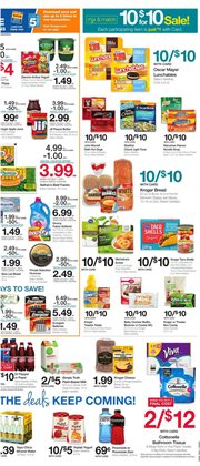Furniture deals in the Kroger weekly ad in Baytown TX