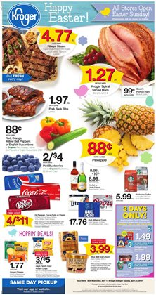 Grocery & Drug deals in the Kroger weekly ad in Newark OH