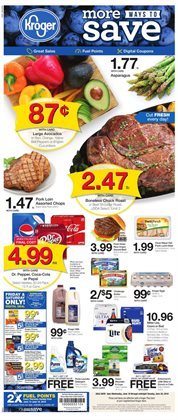 Kroger deals in the Christiansburg VA weekly ad