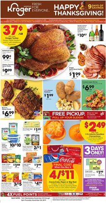 Kroger deals in the Detroit MI weekly ad