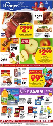 Kroger deals in the Indianapolis IN weekly ad