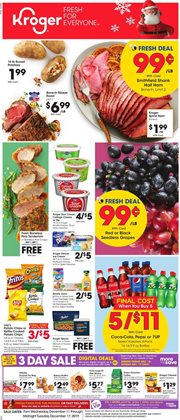 Kroger deals in the Newport News VA weekly ad