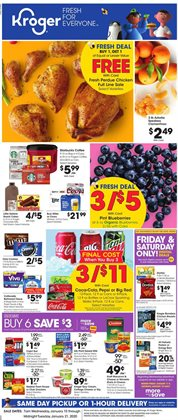 Kroger deals in the Dallas TX weekly ad