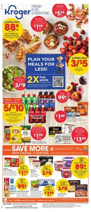 Kroger catalogue ( 2 days ago )