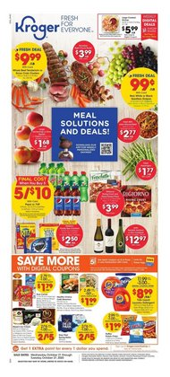 Grocery & Drug offers in the Kroger catalogue in North Little Rock AR ( 1 day ago )