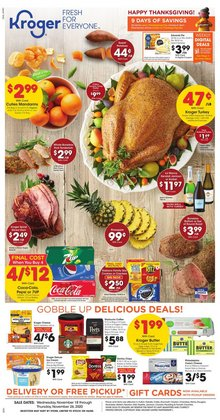Grocery & Drug offers in the Kroger catalogue in Toledo OH ( Expires tomorrow )