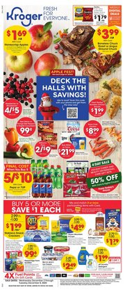 Kroger catalogue ( 3 days left )