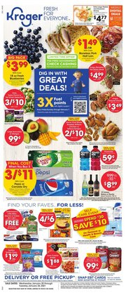 Grocery & Drug offers in the Kroger catalogue in Spring TX ( Published today )