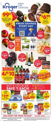 Kroger catalogue ( 1 day ago )