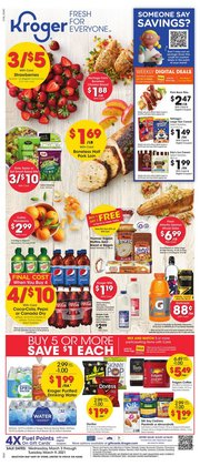 Grocery & Drug offers in the Kroger catalogue in Pearland TX ( Published today )