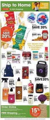 Grocery & Drug deals in the Kroger catalog ( 3 days left)
