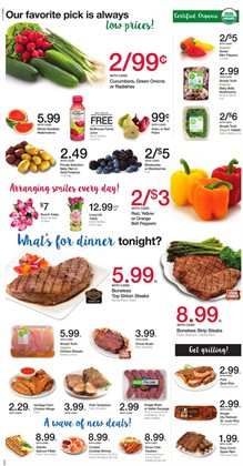 Fruit deals in the Kroger weekly ad in Houston TX