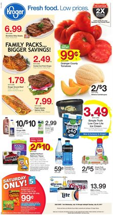 Kroger deals in the Rigby ID weekly ad
