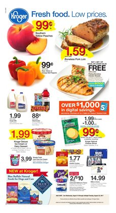 Kroger deals in the Beaumont TX weekly ad