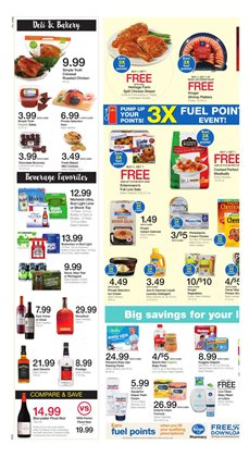 Detergent deals in the Kroger weekly ad in Dallas TX