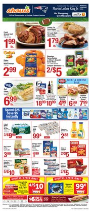 Shaw's deals in the Salem MA weekly ad