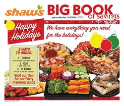 Shaw's catalogue ( Published today )