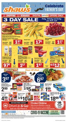 Grocery & Drug deals in the Shaw's catalog ( 2 days left)