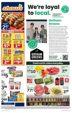 Grocery & Drug deals in the Shaw's catalog ( Expires tomorrow)