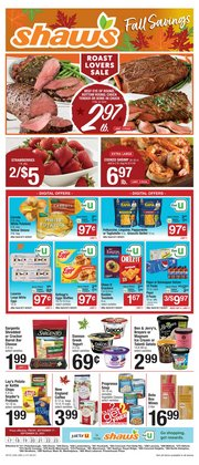 Grocery & Drug deals in the Shaw's catalog ( 5 days left)