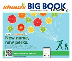 Shaw's deals in the Shaw's catalog ( 21 days left)