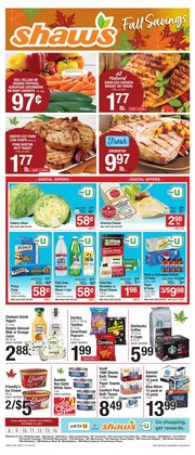 Shaw's deals in the Shaw's catalog ( Expires today)